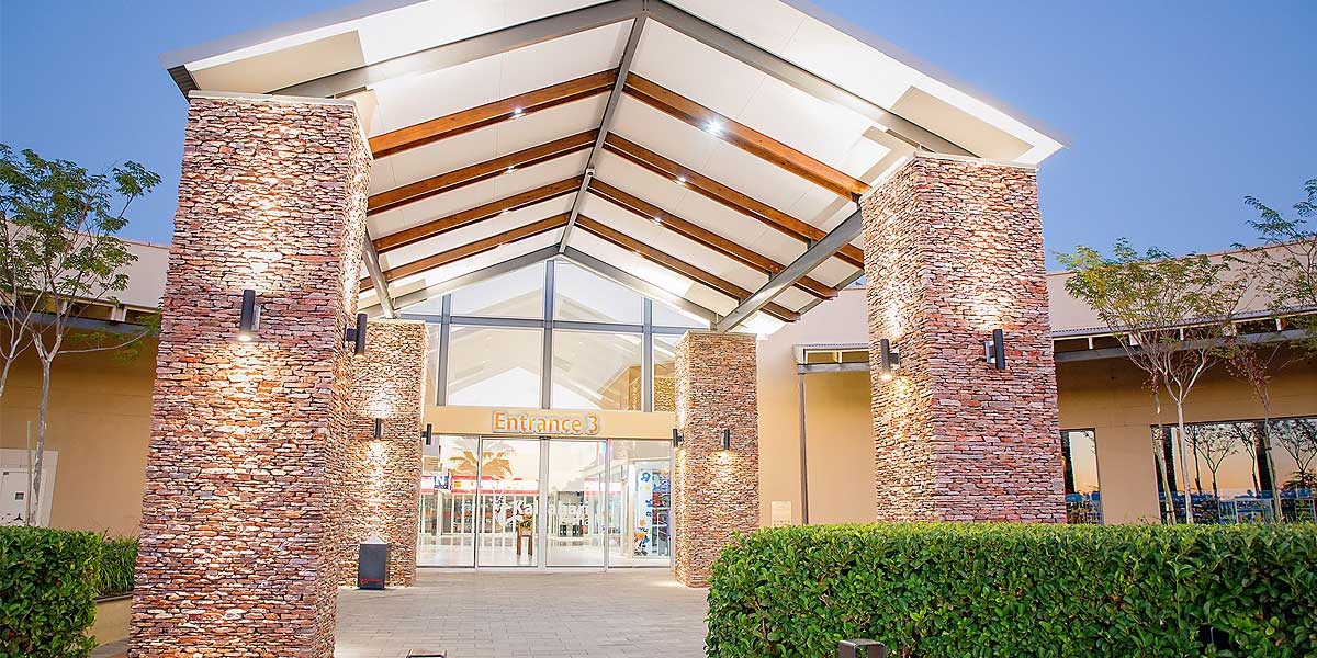 Kalahari Mall entrance, Upington